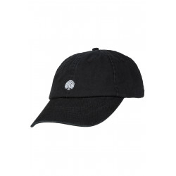 Icon 6 Panel Dad Cap Black