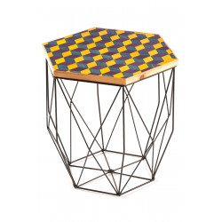 Hexagon Table One