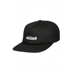 Cloud 6 Panel Cap Black