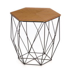 Hexagon Table Three